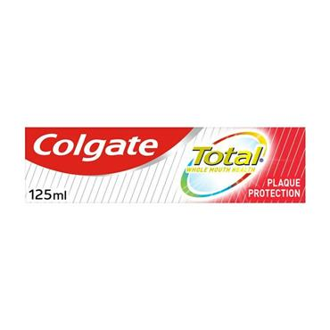 COLGATE TOTAL PLAQUE PROTECTION TOOTHPASTE 125ML