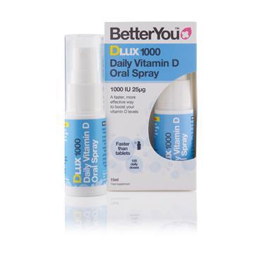BETTER YOU D-LUX VITAMIN D 1000 25UG SPRAY 15ml