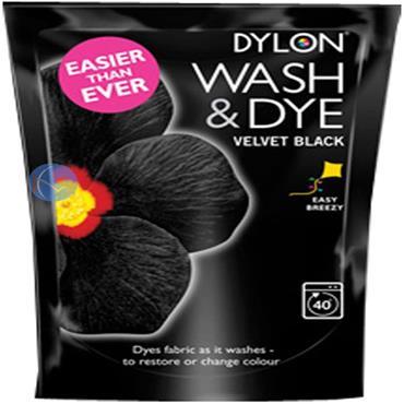 DYLON WASH & DYE BLACK 01