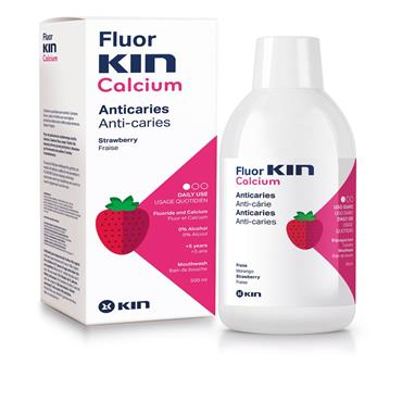 Fluor-Kin Mouthwash+ 8:19 500ml