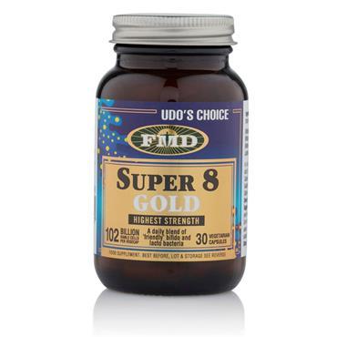 UDOS CHOICE SUPER 8 GOLD CAPSULES 30S
