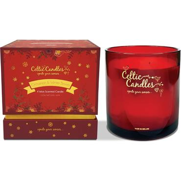 CELTIC CANDLES 4 WICK CINNAMON CANDLE