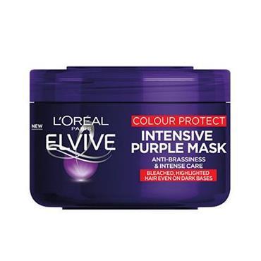 L'Oreal Elvive Colour Protect Antibrassiness Purple Mask 250ml