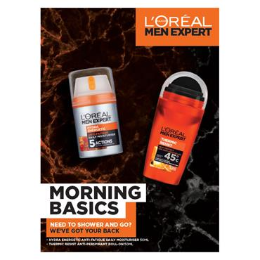 L'OREAL MEN EXPERT MORNING BASICS 2 PIECE SET