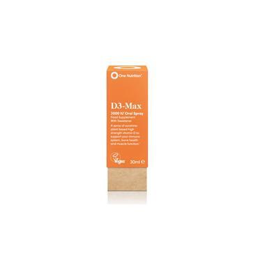 One Nutrition D3 Max Vitamin D3 Oral Spray 30ml