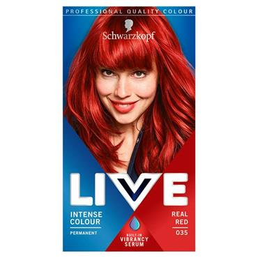 SCHWARZKOPF LIVE INTENSE COLOUR REAL RED 35