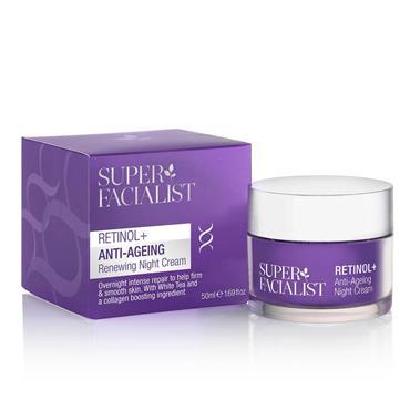 Super Facialist Retinol Anti-Ageing Renewing Night Cream 50ml