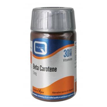 Quest Beta Carotene 15mg plus Carrot Powder capsules 30s