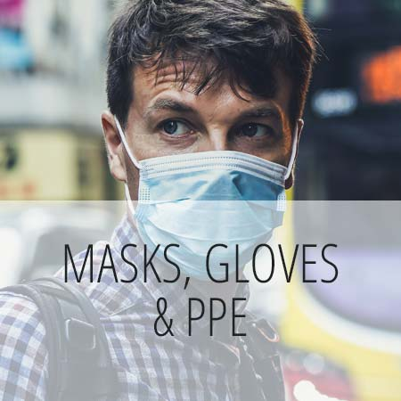 Masks, Gloves & PPE