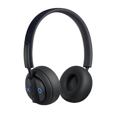 Jam Out There Noise Cancelling On-Ear Bluetooth Headphones Black | HX-HP303BK