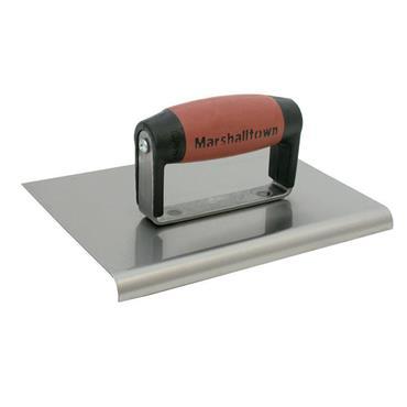 "Marshalltown 120D Cement Edger 8"" x 6"" with  Durasoft Handle | FT75"