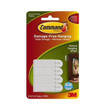 COMMAND 3M SMALL PICTURE HANGING STRIPS   3M17202