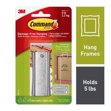 COMMAND 3M SAWTOOTH STICKY   3M17047