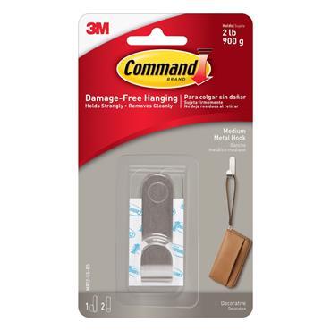 COMMAND MODERN METAL HOOK   3MMR12-SS-ES
