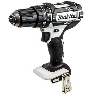 Makita LXT Black & White Combi Drill 18V 2 x 5.0Ah Li-ion | DHP482RTWJ