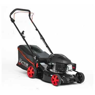 "Victor 17"" Steel Deck Petrol Lawnmower 79.8cc Engine | 270497"