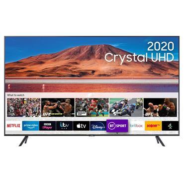 "Samsung 55"" 4K Ultra HD HDR LED Smart TV   UE55TU7100KXXU"