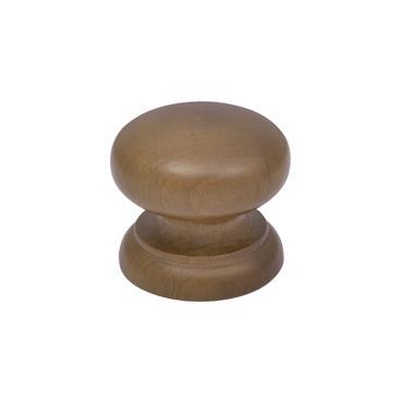 Walnut cabinet knob 45mm | 0500100