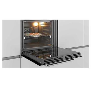 Hoover Premium Touch Multi Function Built-In Single Oven - Black | HOZP717IN/E