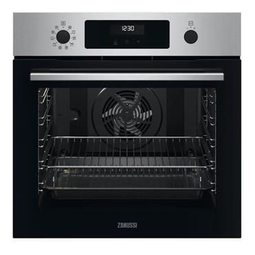 Zanussi Series 60 SelfClean Pyrolytic Built-in Single Oven - Stainless Steel | ZOPNX6X2