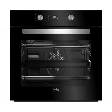 Beko Multifunction Built-In Single Oven - Black | BIM14300BC