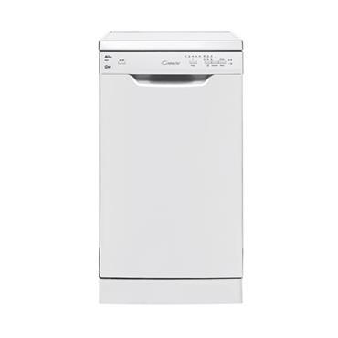Candy 10 Place 45cm Slimline Dishwasher - White   CDP2L1049W-80