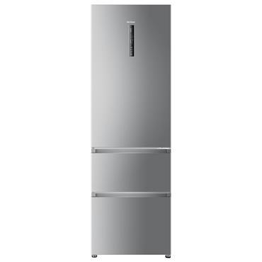 Haier 60/40 Frost Free Freestanding Fridge Freezer - Silver   A3FE635CGJE