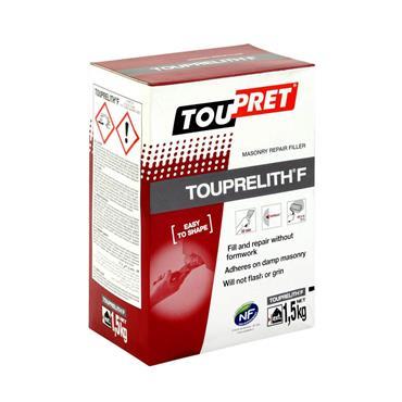Toupret Touprelith F Exterior Masonry Repair Filler 1.5kg   TTLF0150