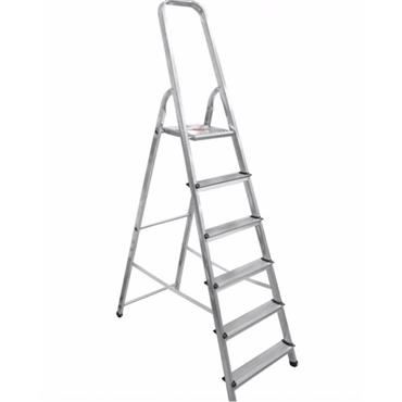 Artub 6 Step Aluminium Step Ladder | 0333-20