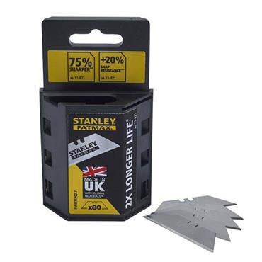 Stanley FatMax Utility Knife Blades (Pack 80) | XMS19BLADE80