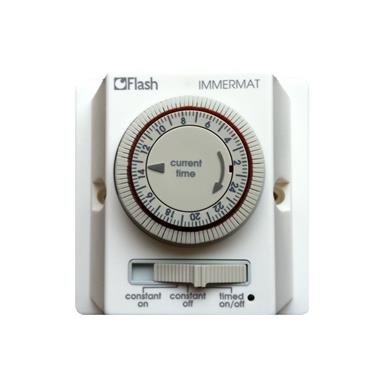 Flash 24 Hour Immersion Heating Switch Timer