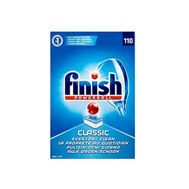 FINISH POWERBALL DISHWASHER TABLETS 110 PACK