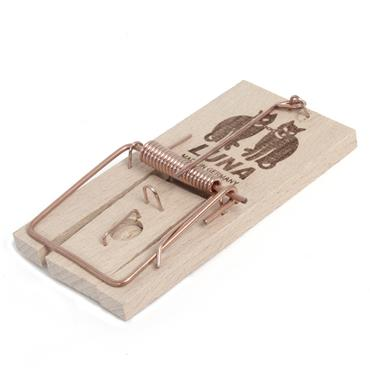 Luna Ultra Power Wooden Mouse Trap | 020215