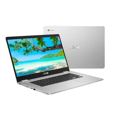 """Asus 15.6"""" Intel Celeron Chromebook 4GB 64GB Emmc - Silver   C523NA-BR0067"""