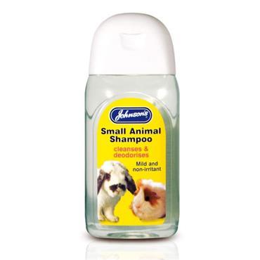 Johnsons Small Animal Cleansing Shampoo 125ml   JJ0161
