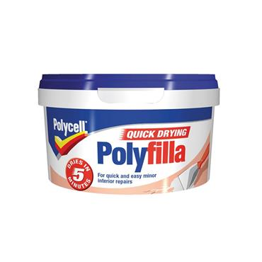 Polycell Quick Drying Polyfilla Wall Filler 500g | 5085286