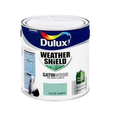 Dulux 2.5 Litre Weathershield Exterior Satinwood - Bondi Waters | 5270117
