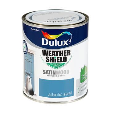 Dulux 750ml Weathershield Exterior Satinwood - Atlantic Swell | 5327827