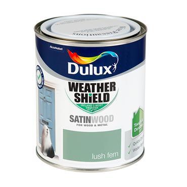 Dulux 750ml Weathershield Exterior Satinwood - Lush Fern | 5327829