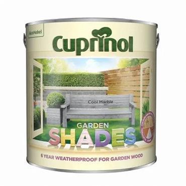 Cuprinol 2.5 Litre Garden Shades Woodstain - Cool Marble | 5316989