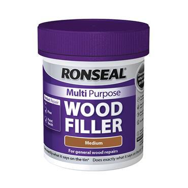 Ronseal Multi Purpose Wood Filler 250g - Medium | 34737