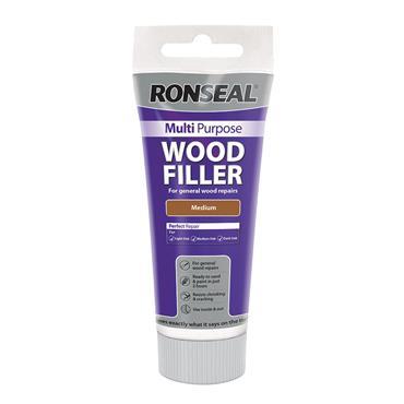 Ronseal Multi Purpose Wood Filler Tube 325g - Medium | 34742