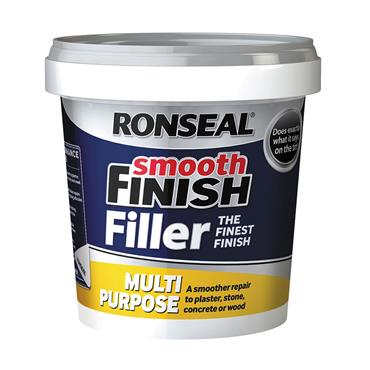 Ronseal 2.2kg Multi Purpose Ready Mixed Wall Filler - White | 36547