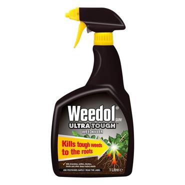 Weedol Ultra Tough Ready To Use Weedkiller 1 Litre