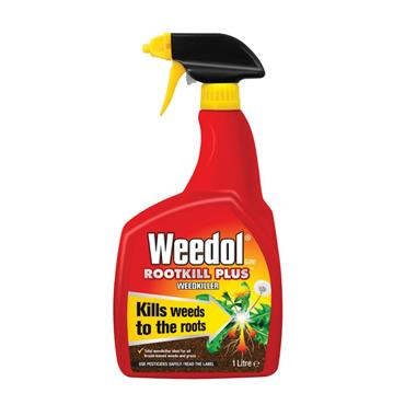 WEEDOL GUN ROOTKILL PLUS READY TO USE WEEDKILLER 1 LITRE