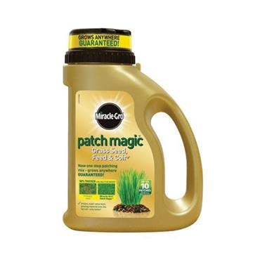 Miracle Gro Patch Magic Grass Seed Feed 750g