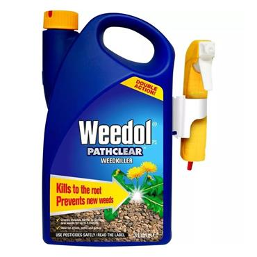 Weedol Pathclear Weedkiller Ready to Use 3 Litre with Gun