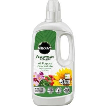 Miracle-Gro Performance Organics All-Purpose Liquid Concentrate Food 1 LITRE | 4104443