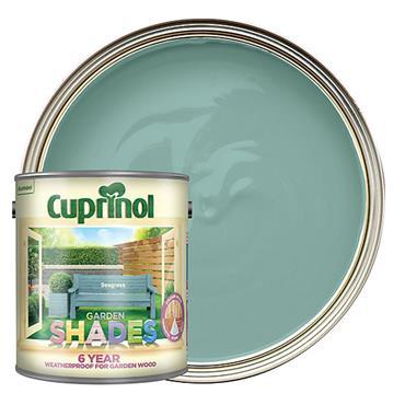 Cuprinol 1 Litre Garden Shades Woodstain - Seagrass | 5083482