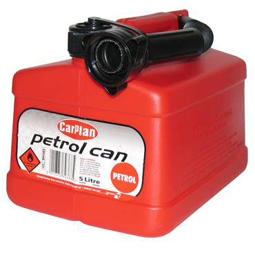 Carplan Petrol Fuel Can 5 Litre - Red   230159